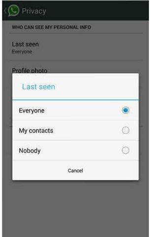 WhatsApp_Last seen at