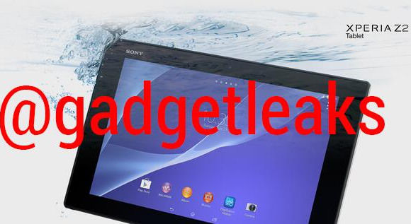 Xperia Tablet Z2 waterproof