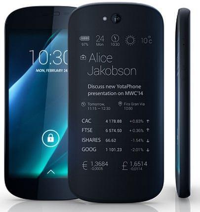 YotaPhone 2014 design