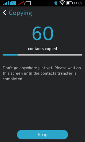 Contacts Transfer on the Nokia X (1)