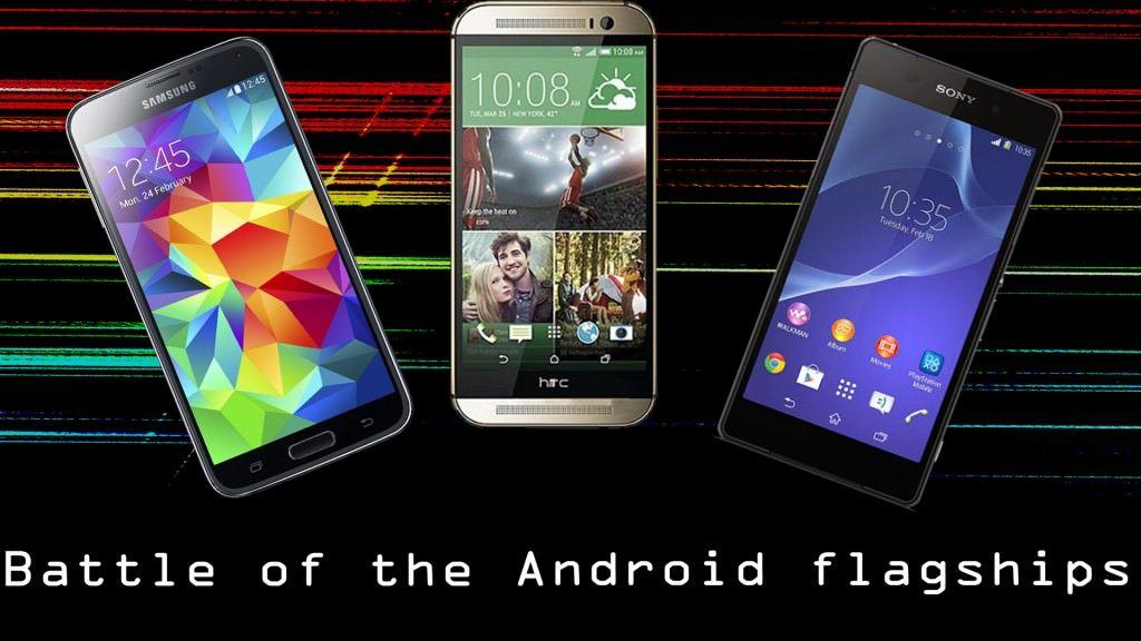 HTC One vs Samsung Galaxy S5 vs Sony Xperia Z2