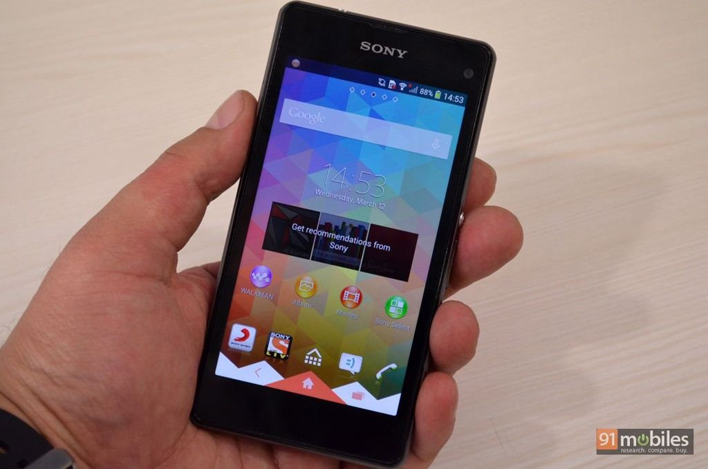 f338e622ce7b Sony Xperia Z1 Compact review  when smaller is better
