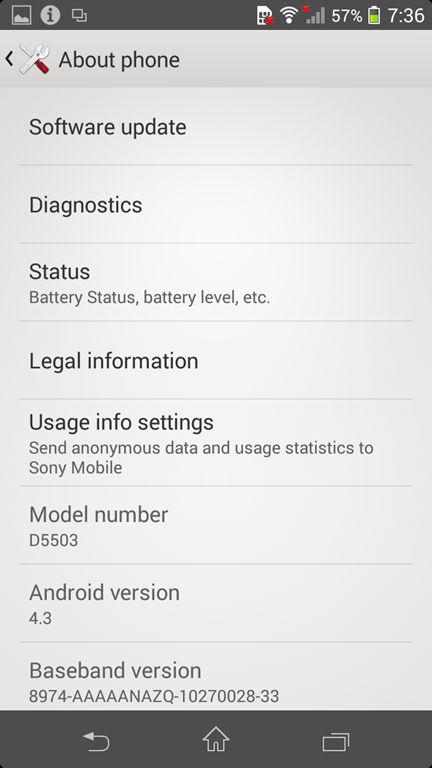 Sony Xperia Z1 Compact screenshot (4)