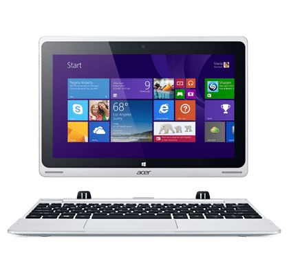 4) Acer Aspire Switch 10