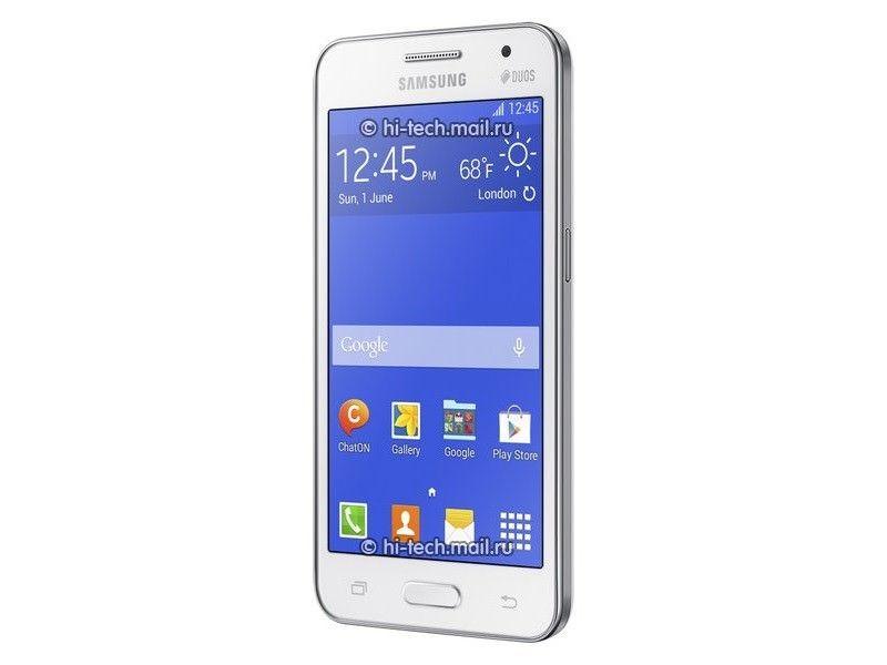Galaxy Core 2 display