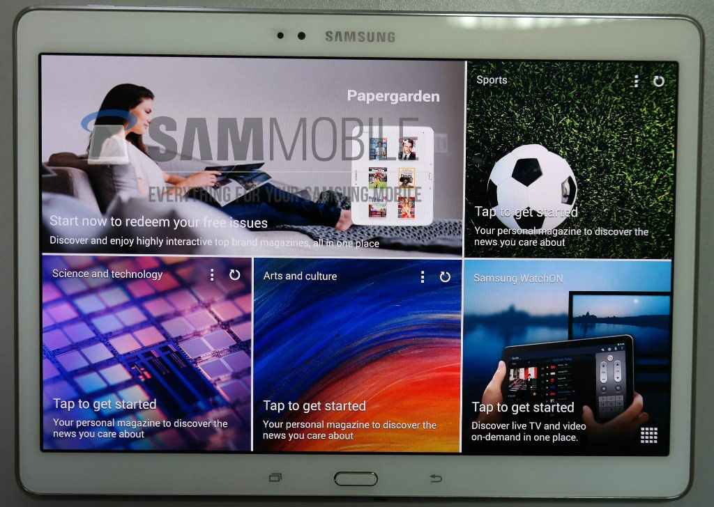 Details about Samsung's trio of upcoming tablets, including