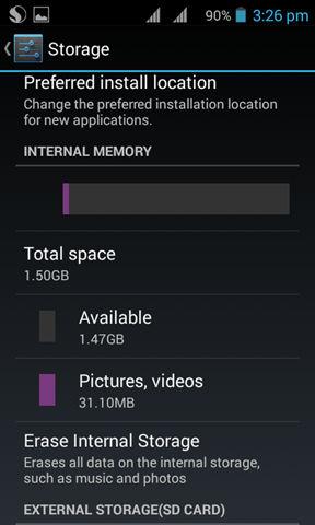 Lava Iris 406Q screenshot (2)
