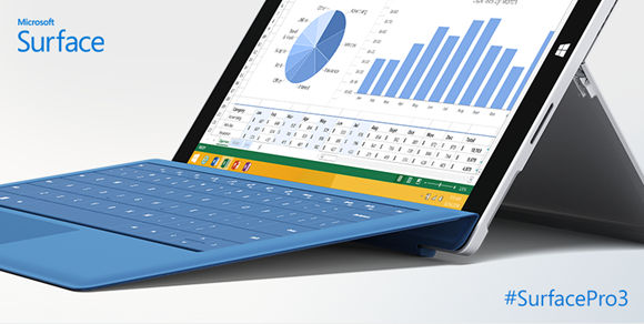 Microsoft Surface Pro 3 Type Cover