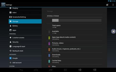 Milagrow M8 PRO screenshot (2)