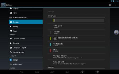 Milagrow M8 PRO screenshot (3)