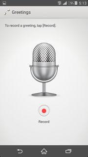 Sony Xperia Z2 Answering Machine (5)