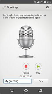 Sony Xperia Z2 Answering Machine (6)