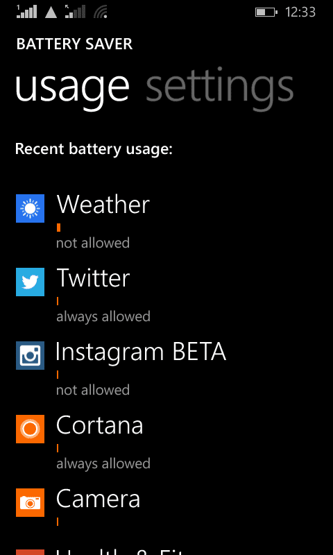 Lumia 630_battery saver_2