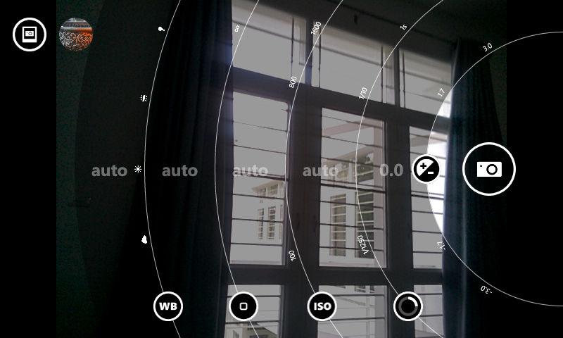 Lumia 630_camera UI