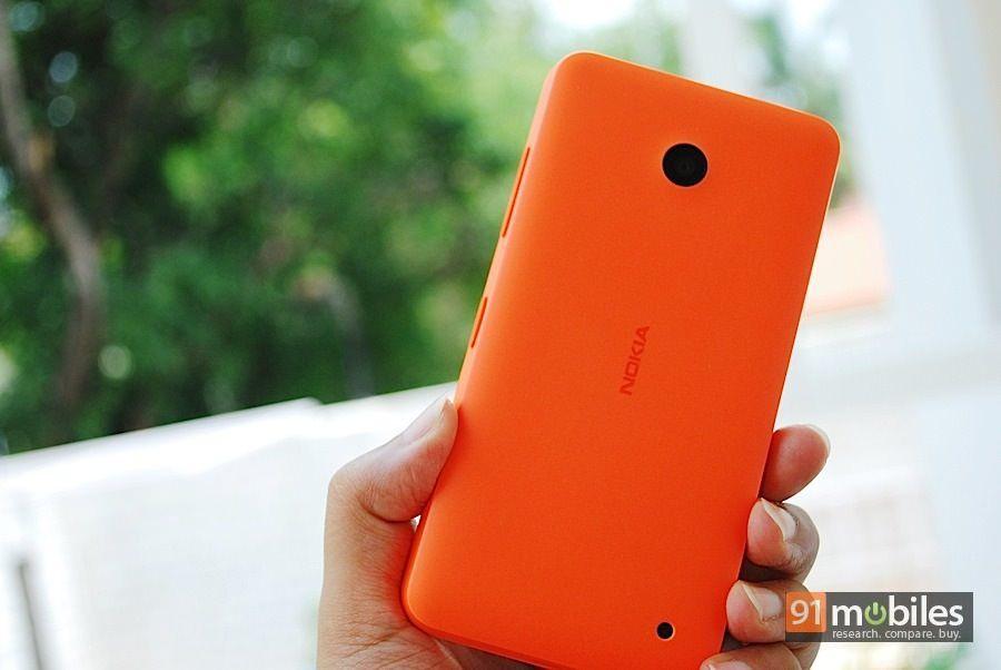 Nokia Lumia 630_back