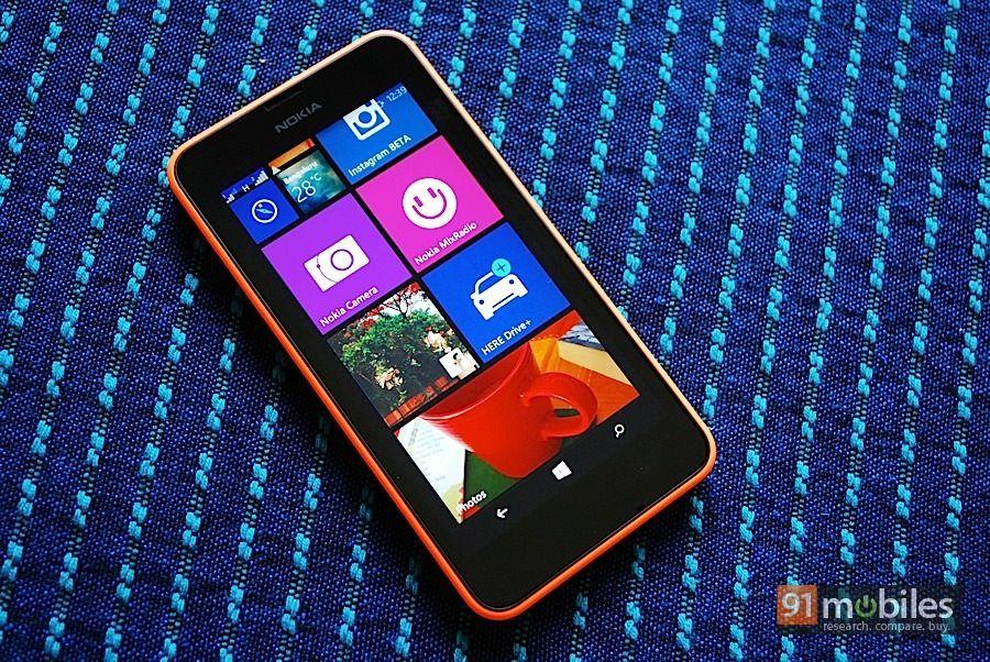 Nokia Lumia 630_front