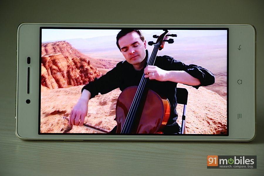 Oppo R1 display