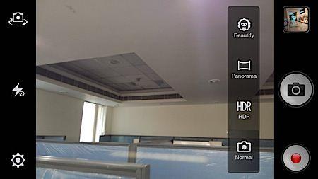 Oppo R1 camera modes