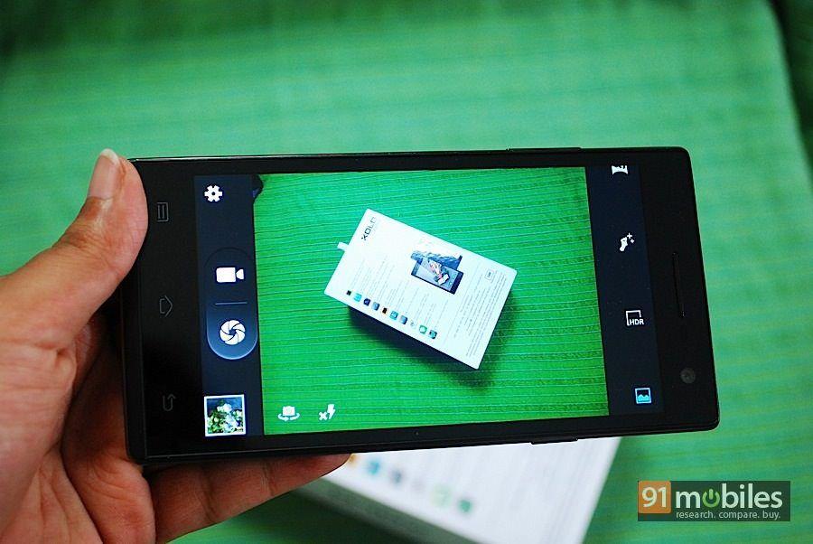 XOLO Q1010i camera mode