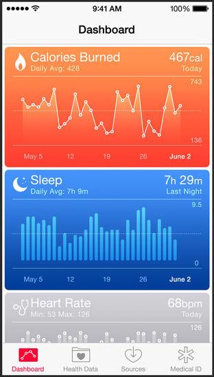 iOS 8 HealthKit 1