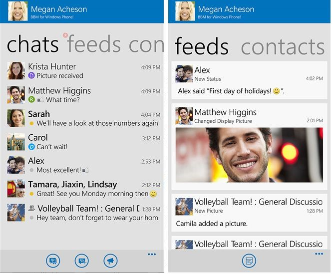 BBM now available for all Windows Phone users, still in beta