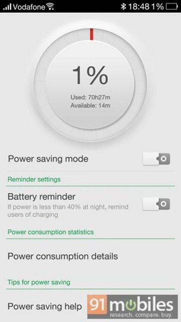 Oppo Find 7 battery test1