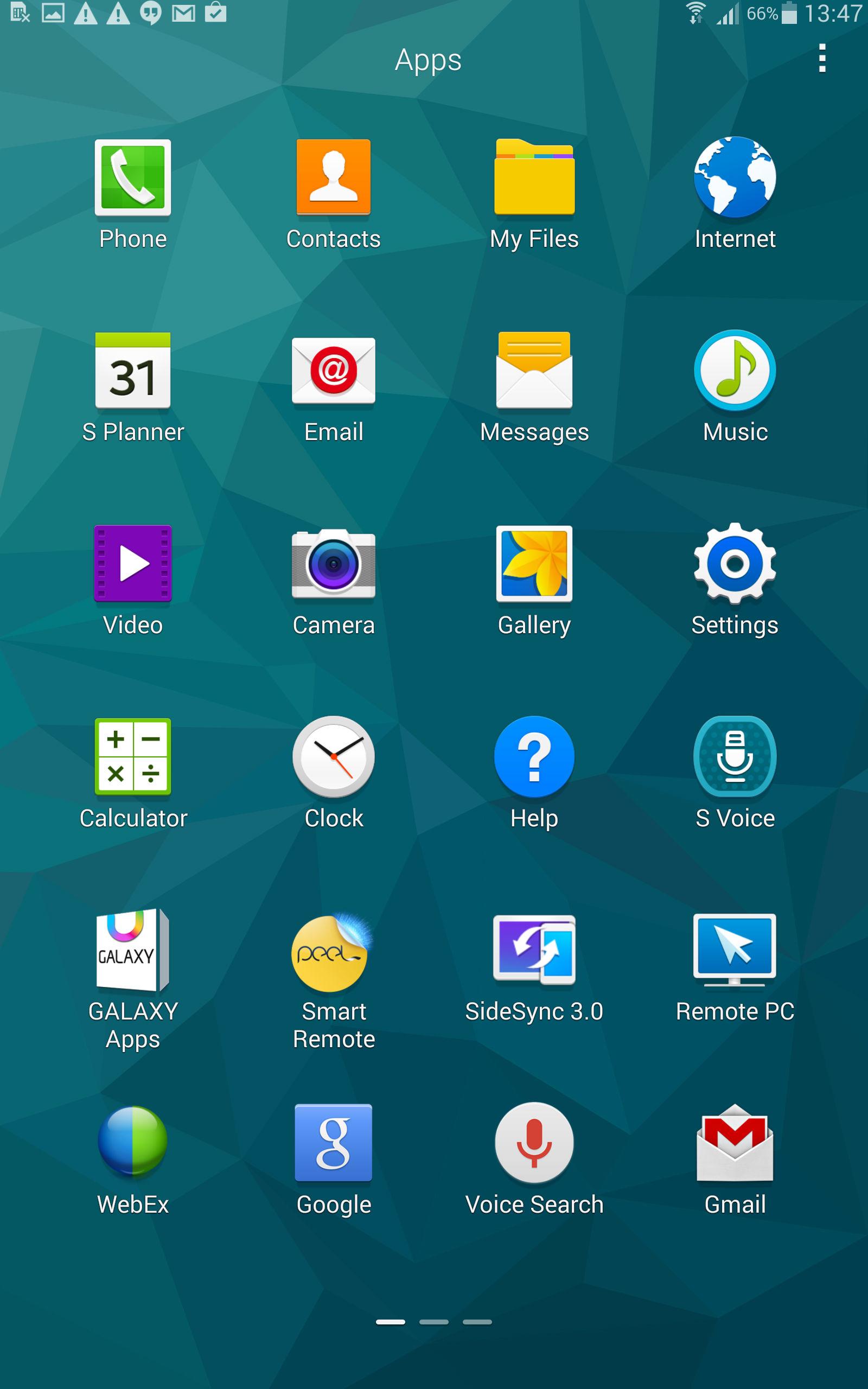 Samsungs App