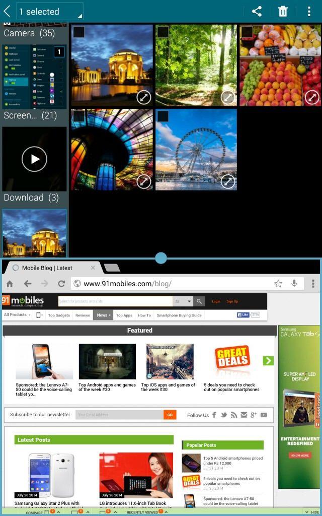 Samsung Tab S_multi window2