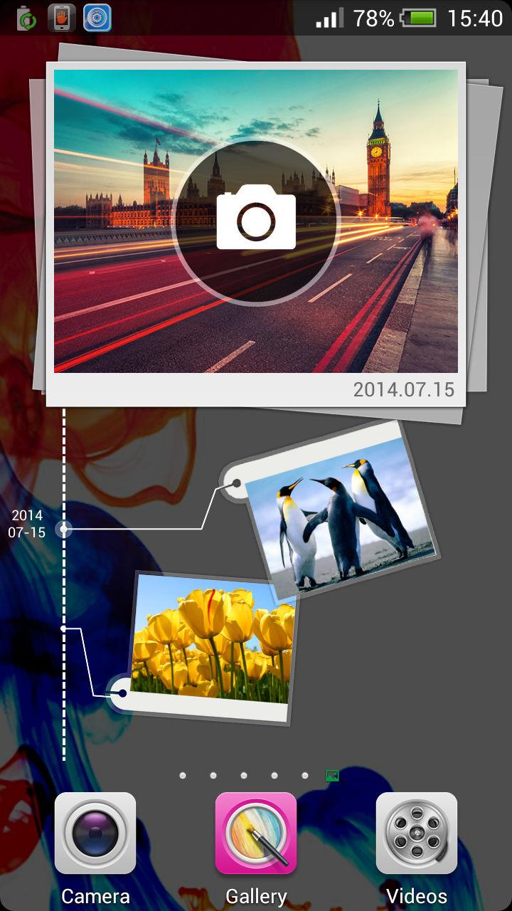 XOLO Q1200_camera widget
