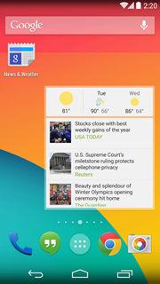 Google News & Weather 1
