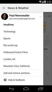 Google News & Weather 2