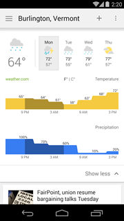 Google News & Weather 3