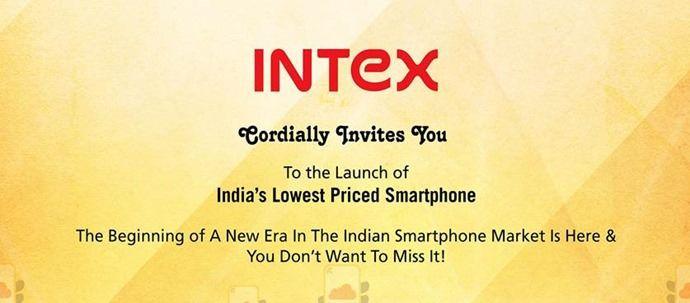 Intex Cloud FX invite