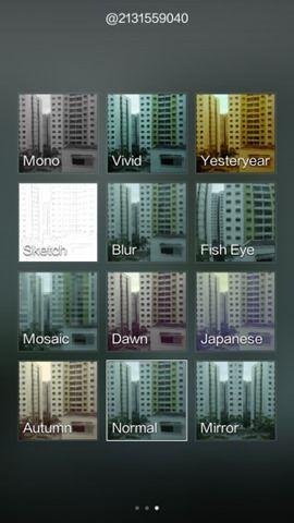 MIUI 6 camera interface_filters