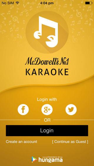 McDowells No 1 Karaoke_1