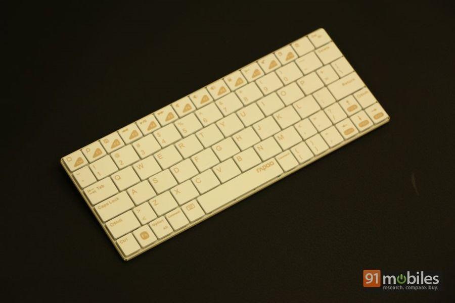 Rapoo E6300 Bluetooth keyboard 01