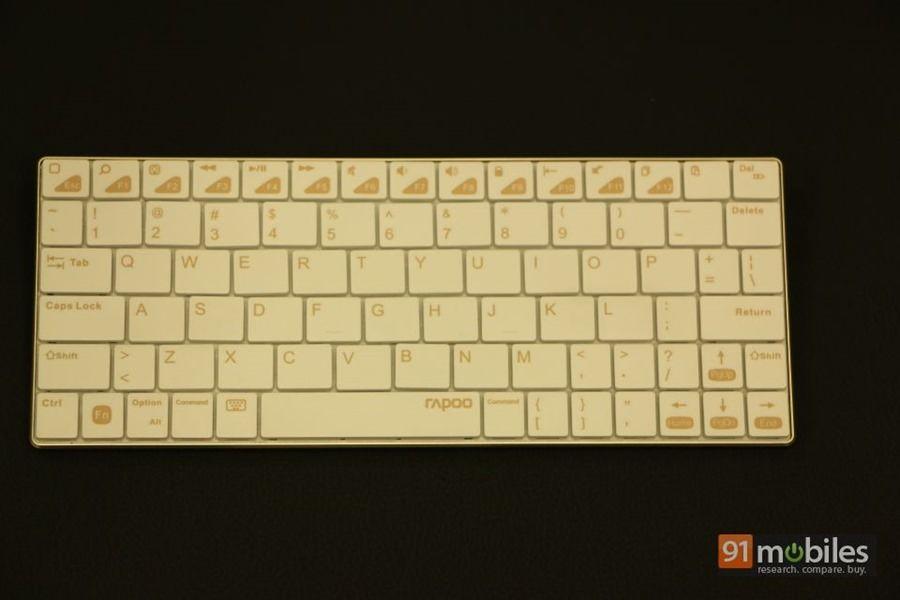 Rapoo E6300 Bluetooth keyboard 02