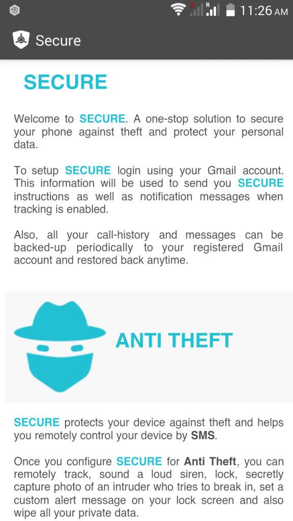 Xolo Hive_Secure 2