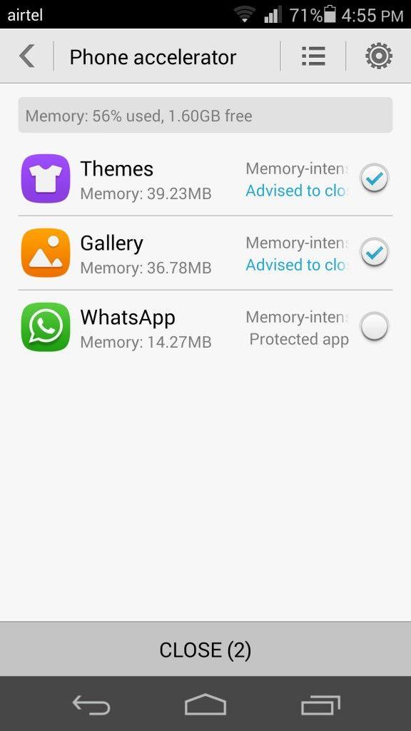 Huawei Honor 6_Phone accelerator