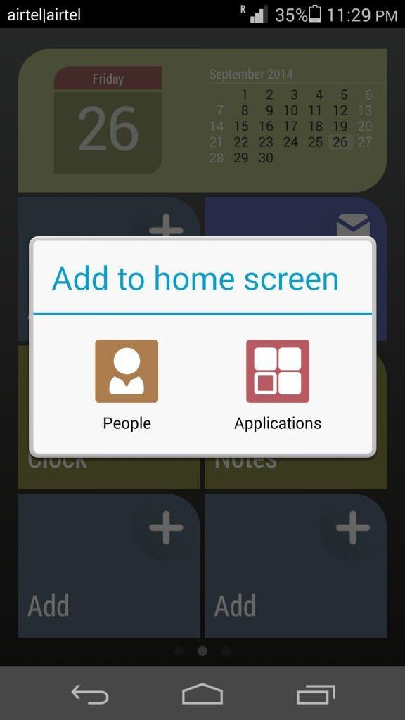 Huawei Honor 6_Simple Homescreen_2
