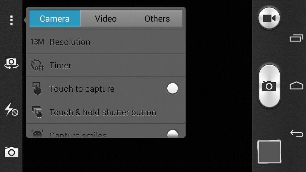 Huawei Honor 6_camera settings