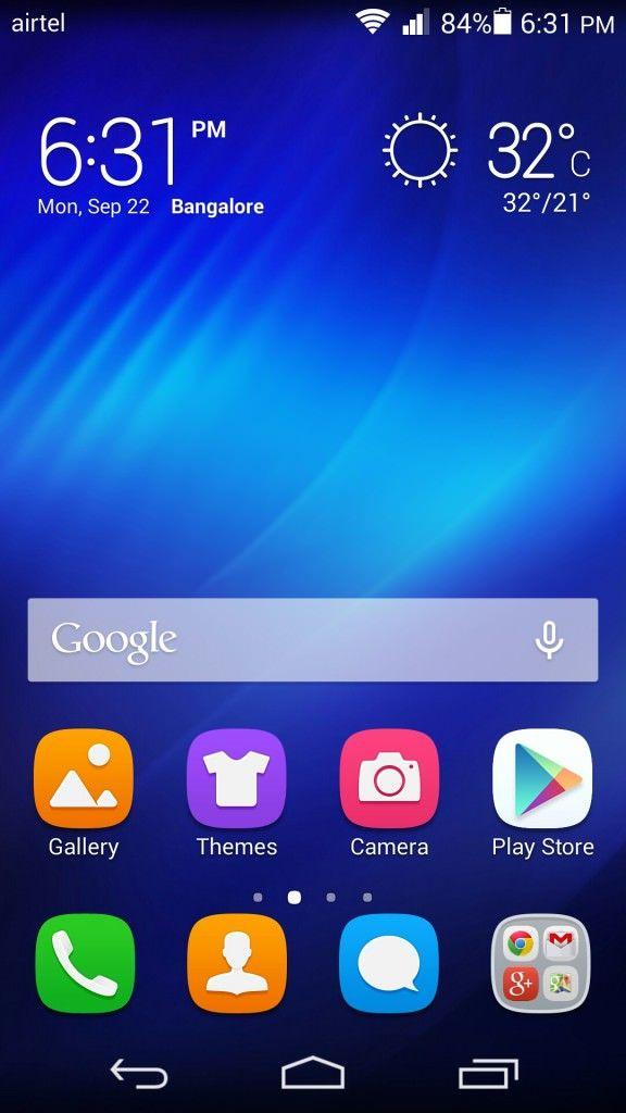 Huawei Honor 6_homescreen