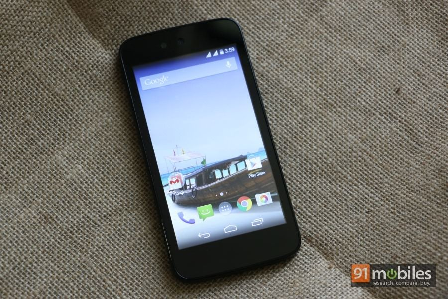 detailed pictures 7cdb8 a06fa Android One Karbonn Sparkle V review | 91mobiles.com