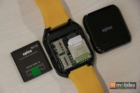 Spice SmartPulse smartwatch 34