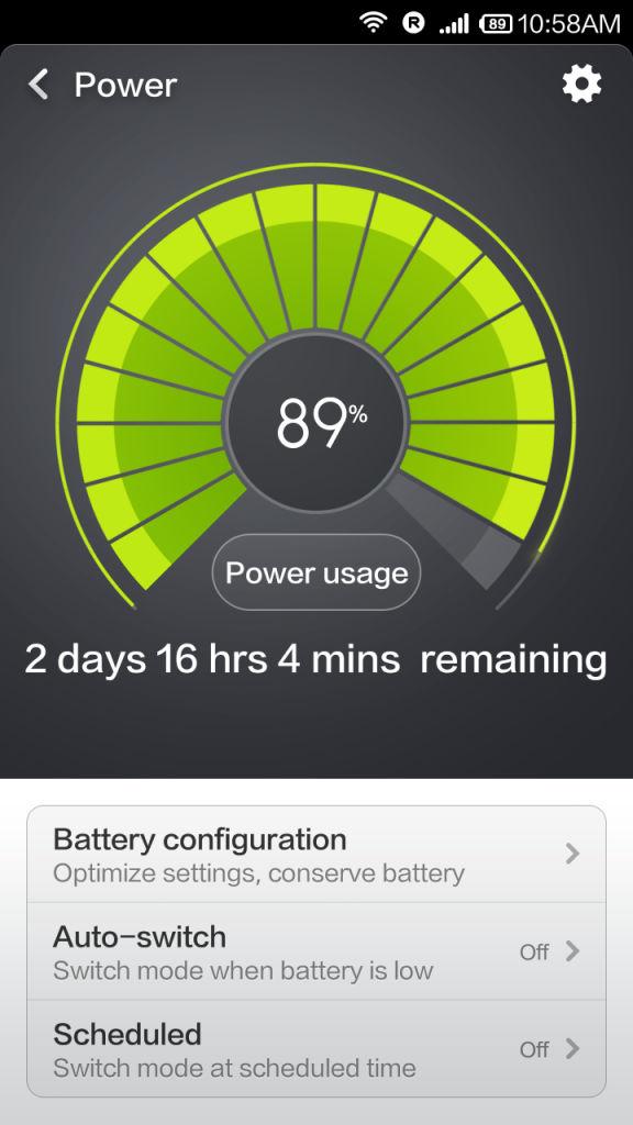 Xiaomi Redmi 1s_Power app