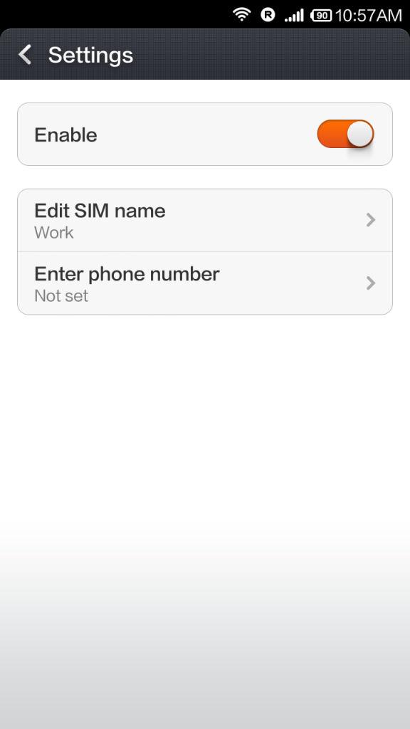 Xiaomi Redmi 1s_SIM management