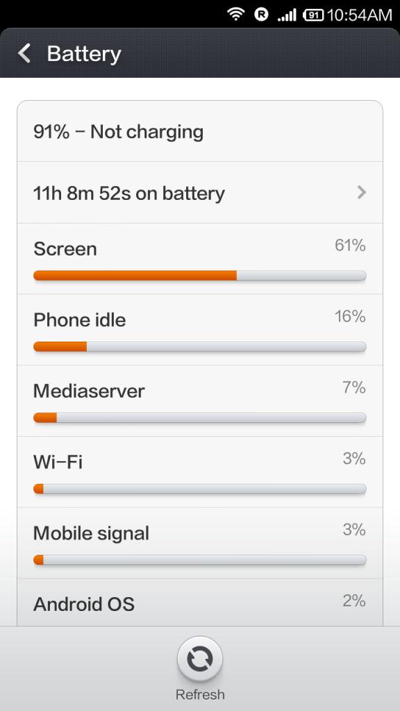 Xiaomi Redmi 1s_battery