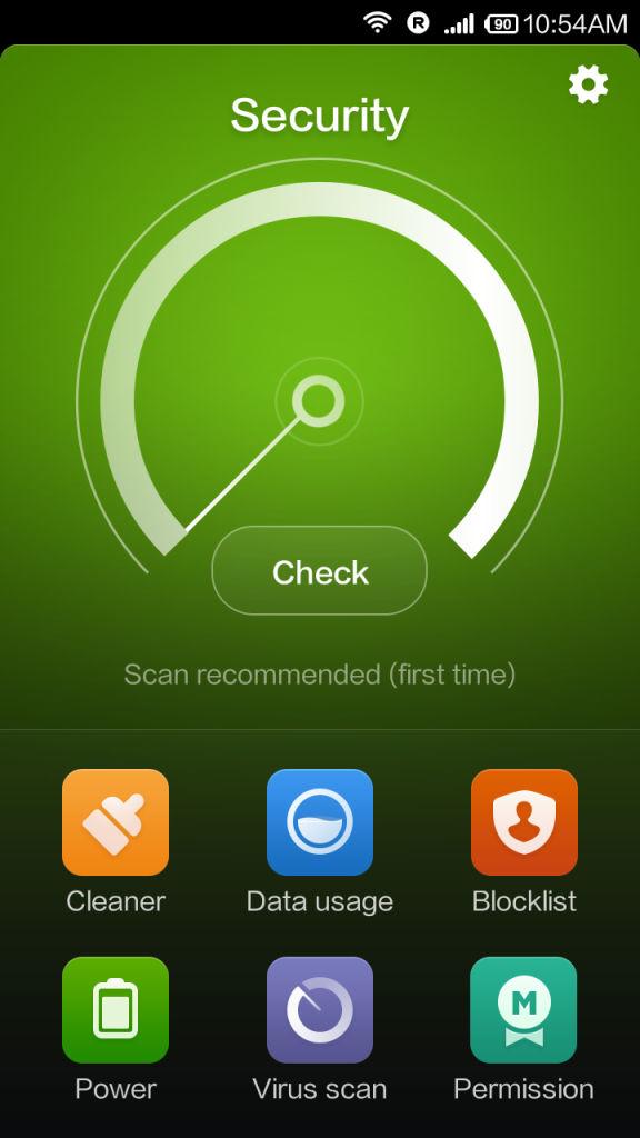 Xiaomi Redmi 1s_security suite