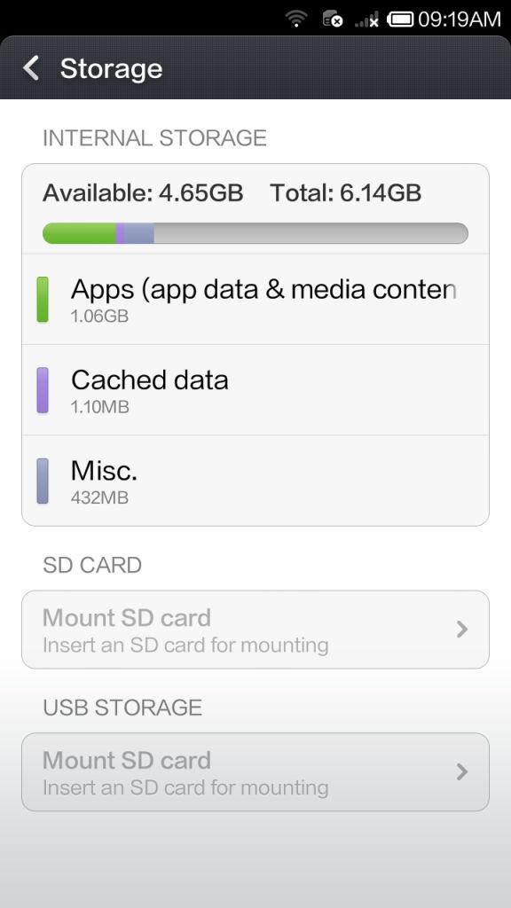 Xiaomi Redmi 1s_storage