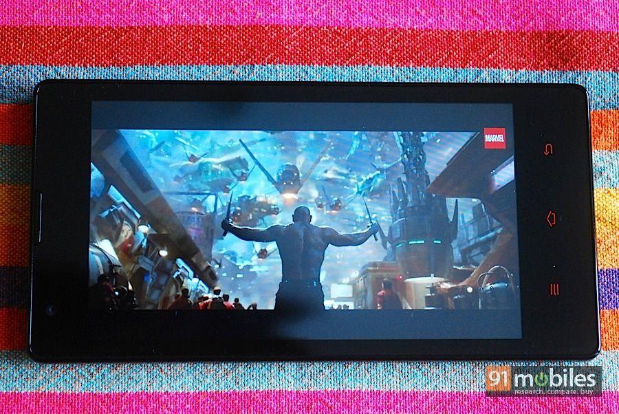 Xiaomi Redmi 1s_video playback